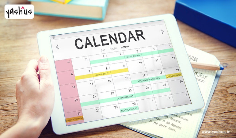 Social media calendar tips